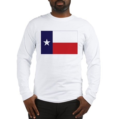 Texas Flag Long Sleeve T-Shirt