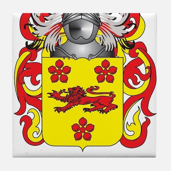 Boucher Coat of Arms Tile Coaster
