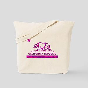 california bear camo pink Tote Bag