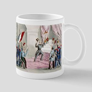 The people in the Tuileries - 1848 11 oz Ceramic M