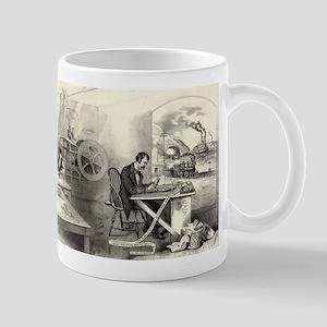 The progress of the century - 1876 11 oz Ceramic M