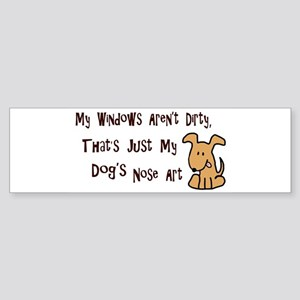 Nose Art 2 Bumper Sticker