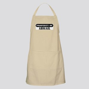 Property of Abigail BBQ Apron