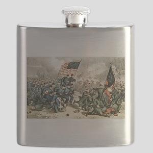 The second battle of Bull Run - 1862 Flask