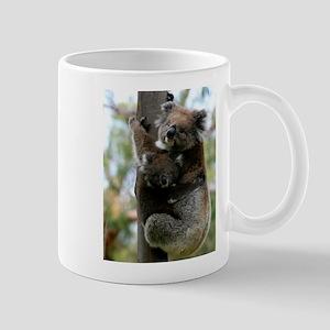 Australian Koala Mother and Baby Mug