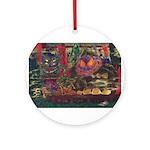 Japanese Yokai Monster Gang Ornament (Round)