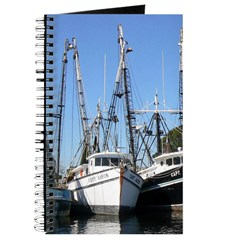 Shrimp Fishing Boats Journal