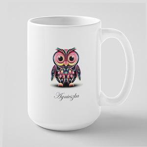 Agi's Owl on White Coffee Mug
