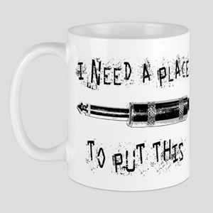 Place for this Amp Plug Mug