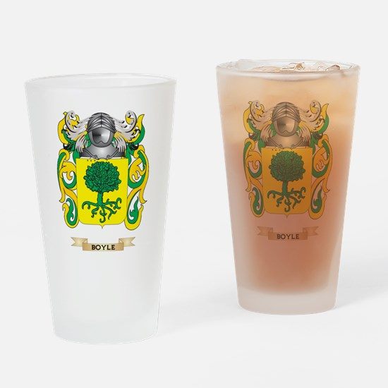 Boyle Coat of Arms Drinking Glass