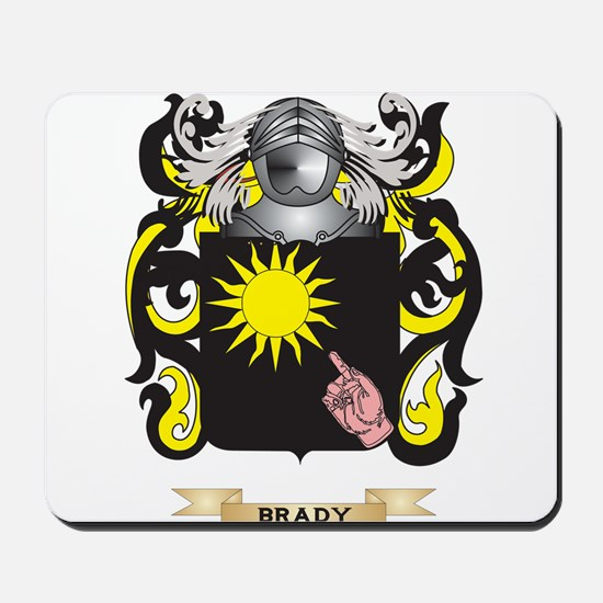 Brady Coat of Arms Mousepad