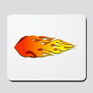 Racing Flames Mousepad