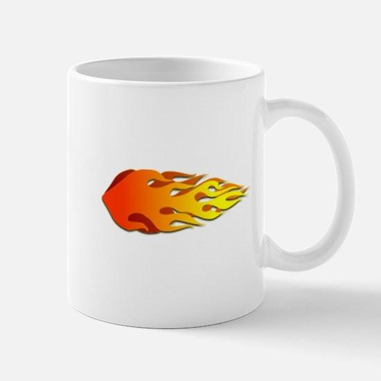 Racing Flames Mug