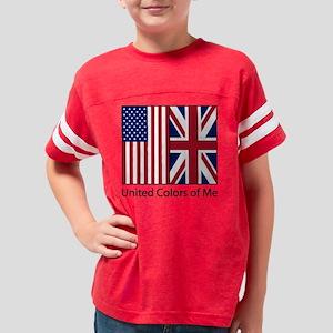 usukme_CPDark Youth Football Shirt