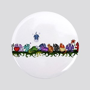 """many cute Dragons 3.5"""" Button"""