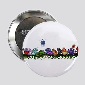 "many cute Dragons 2.25"" Button"