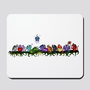 many cute Dragons Mousepad
