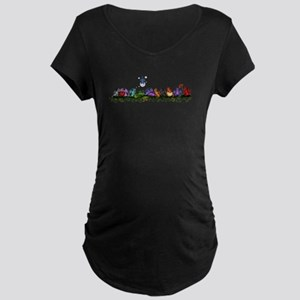 many cute Dragons Maternity T-Shirt