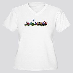 many cute Dragons Plus Size T-Shirt