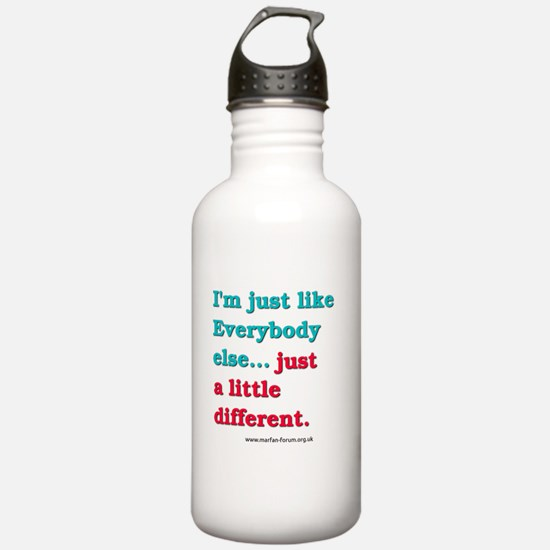 Im just like everybody else Sports Water Bottle