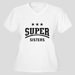 Super Sisters (Black) Plus Size T-Shirt