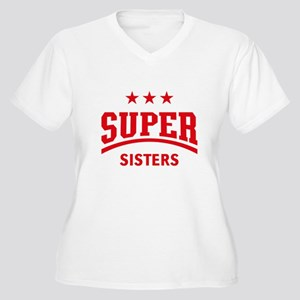 Super Sisters (Red) Plus Size T-Shirt