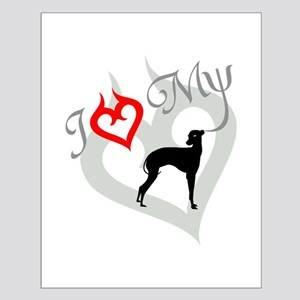 Italian Greyhound Small Poster