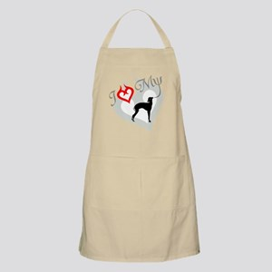 Italian Greyhound BBQ Apron