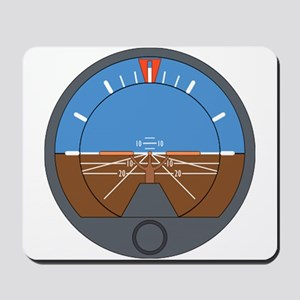 Airplane Attitude Indicator Mousepad