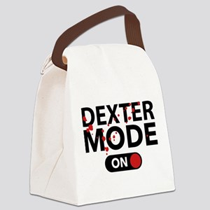 Dexter Mode On Canvas Lunch Bag