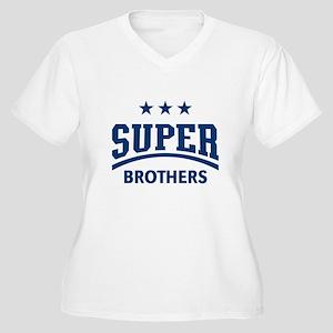 Super Brothers (Boue) Plus Size T-Shirt