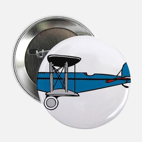 "Vintage Biplane 2.25"" Button (100 pack)"