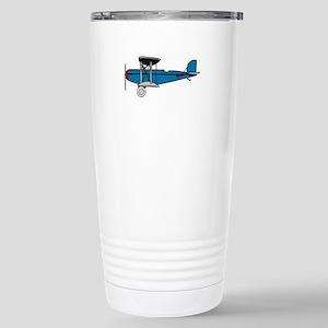 Vintage Biplane Travel Mug