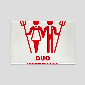 Duo Infernal Rectangle Magnet
