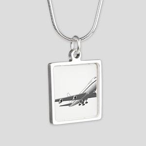 Passenger Jet Airplane Necklaces