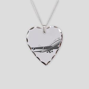 Passenger Jet Airplane Necklace