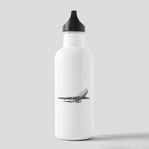 Passenger Jet Airplane Water Bottle