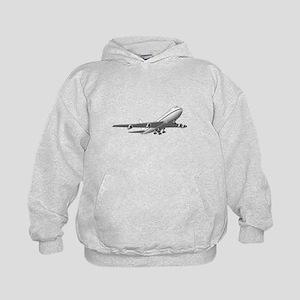 Passenger Jet Airplane Hoodie