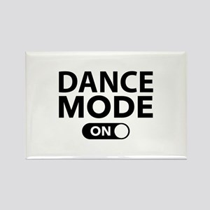 Dance Mode On Rectangle Magnet