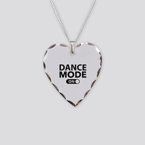 Dance Mode On Necklace Heart Charm