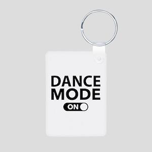 Dance Mode On Aluminum Photo Keychain