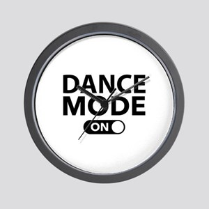 Dance Mode On Wall Clock