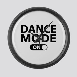 Dance Mode On Large Wall Clock