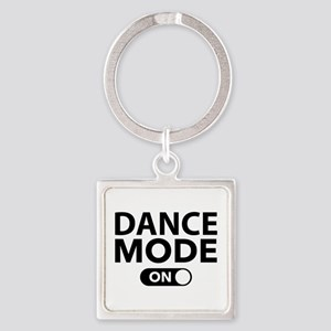 Dance Mode On Square Keychain