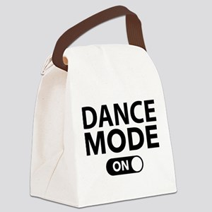 Dance Mode On Canvas Lunch Bag