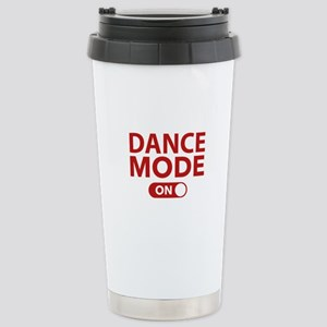 Dance Mode On Stainless Steel Travel Mug