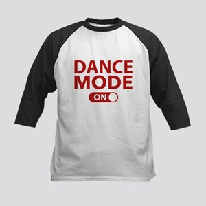 Dance Mode On Kids Baseball Jersey
