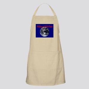 Peace on Earth BBQ Apron