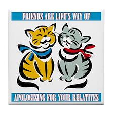 Friends Tile Coaster
