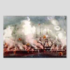 Victorious bombardment of Port Royal, SC - 1907 Po